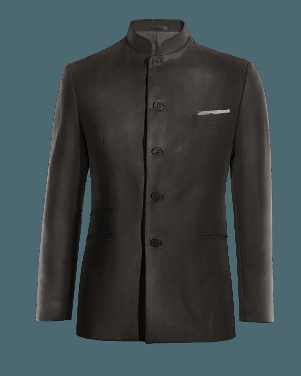 Black Nehru Blazer