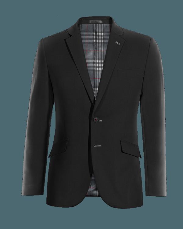 Veste noire en Coton