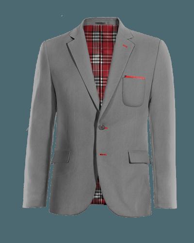Americana gris de lana 0e5b63f29b5