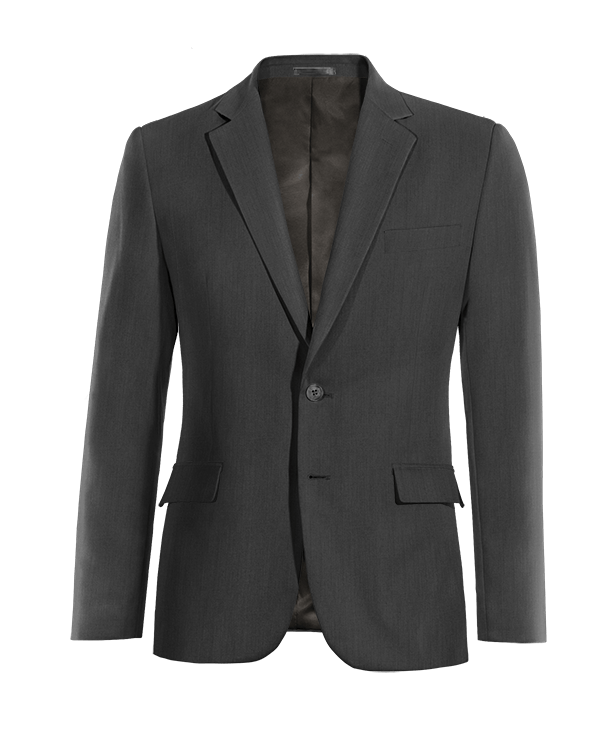 Grey wool Blazer
