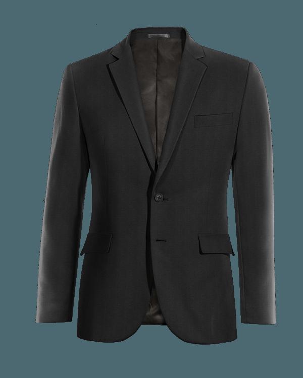 Schwarzes Sakko aus Wolle