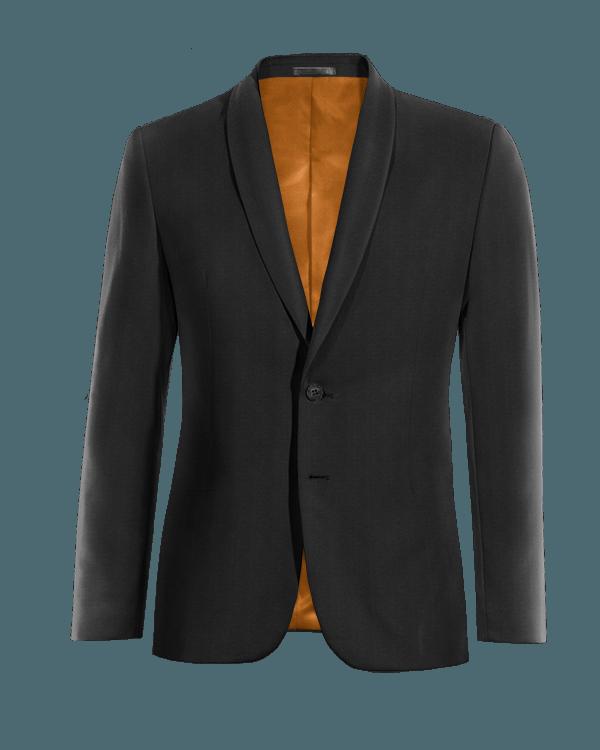 Black wool Blazer