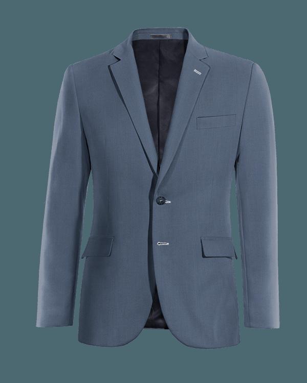 Blaues Sakko aus Wolle