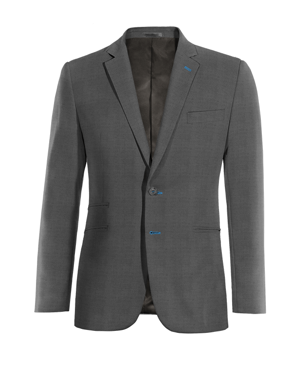 Graues Sakko aus Wolle