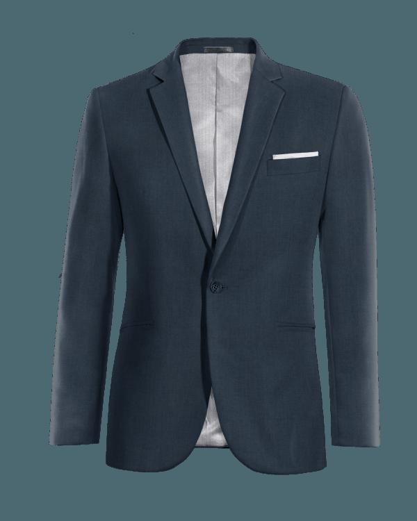 Veste bleue 100% laine