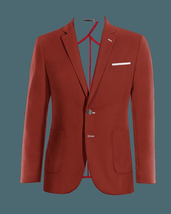 Veste rouge en Coton