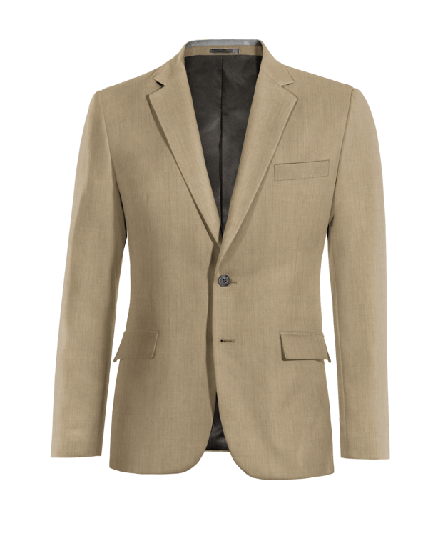 Giacca grigia 100% lana