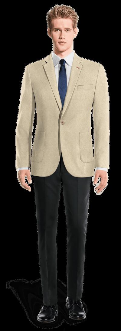 giacca uomo 1 bottone
