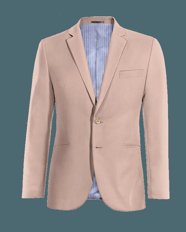 Pinkes Sakko aus Wolle