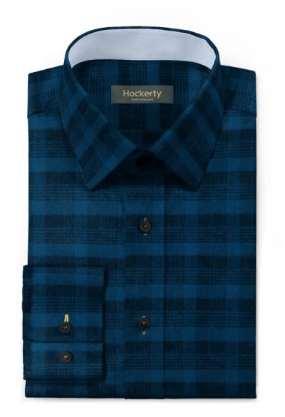 Blue flannel checked Shirt