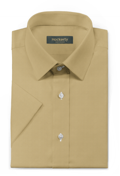 Beige short sleeved Shirt