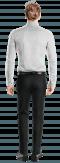 Chemise blanche à pois 100% coton-Vue Dos