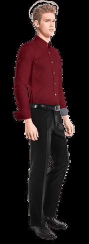 Camicia rossa-side