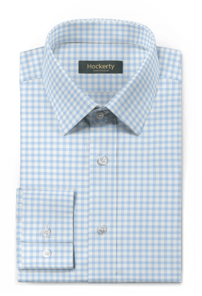 Blue checked 100% cotton Shirt