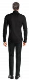 Black linen Shirt-View Back