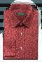 красная хлопковая рубашка с запонками с цветочным рисунком-folded