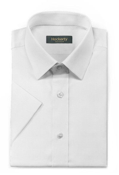 White short sleeved 100% cotton Shirt