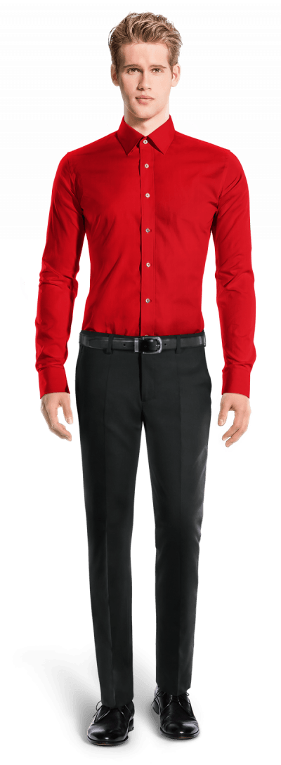 Red 100% cotton Shirt