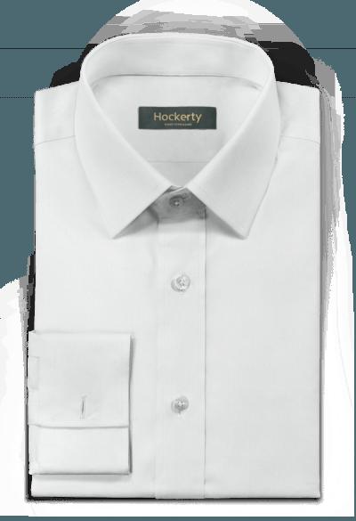 белая льняная рубашка с запонками
