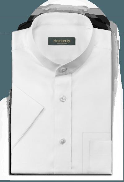 White short sleeved oxford Shirt