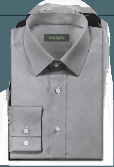 серяя рубашка oxford