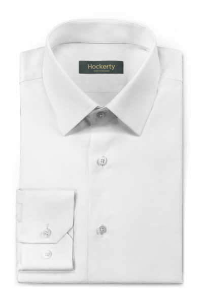 Chemise blanche oxford