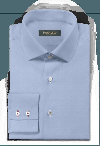 Camicia blu 100% cotone