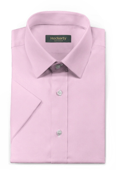 Pink short sleeved 100% cotton Shirt