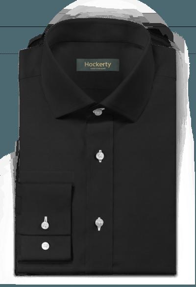 Camicia nera 100% cotone