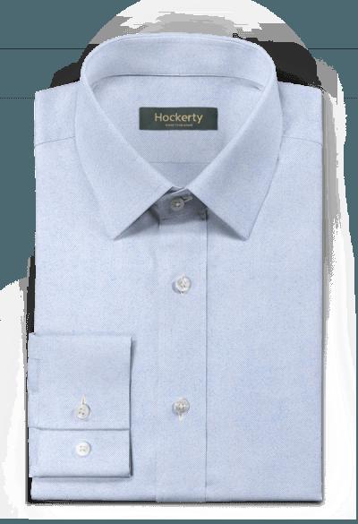 Blaues flanell Hemd