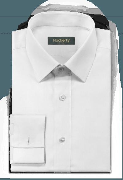 Camicia gemelli bianca 100% cotone