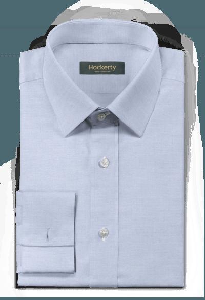 Blue french cuff 100% cotton Shirt