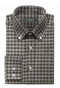 Grey flannel checked Shirt-folded