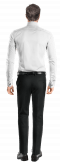 White french cuff oxford Shirt-View Back