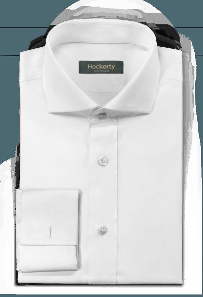 Chemise blanche boutons de manchette oxford