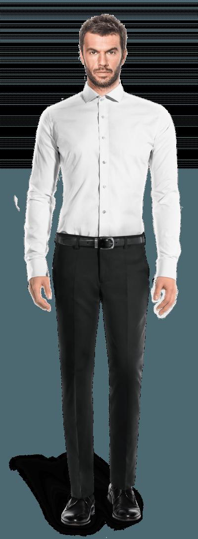White french cuff oxford Shirt