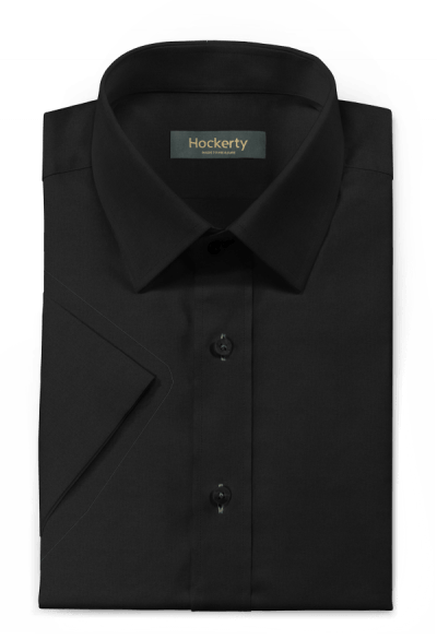 Black short sleeved 100% cotton Shirt