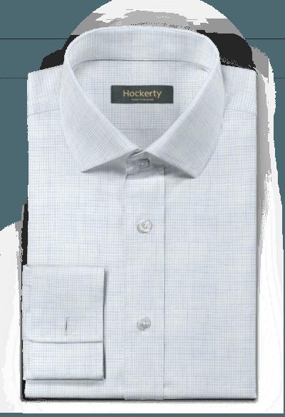 Blue french cuff linen Shirt