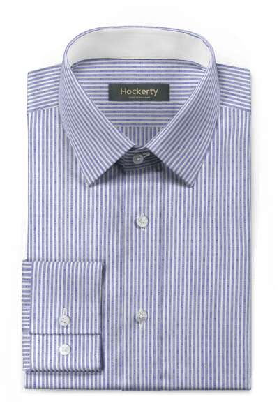 Blue striped 100% cotton Shirt