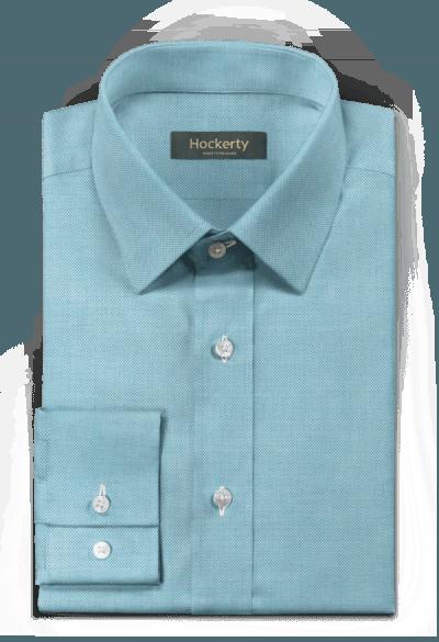 Blaues oxford Hemd