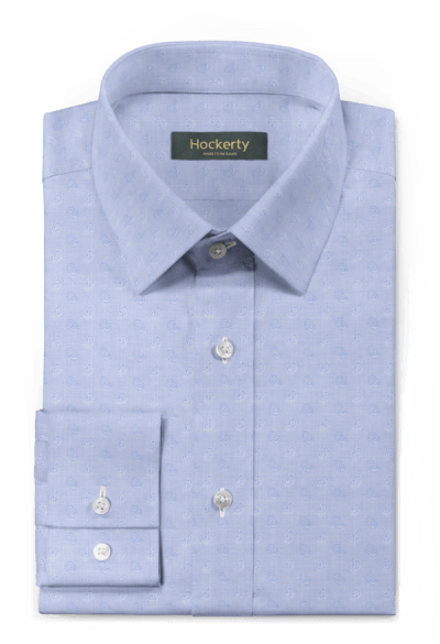 Blue paisley 100% cotton Shirt
