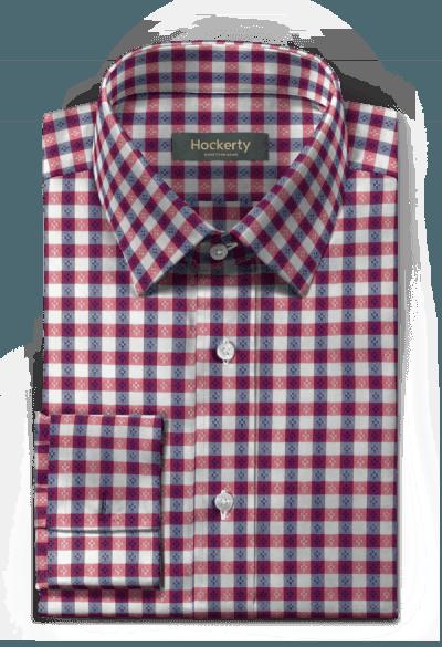 Kariertes Hemd mit Umschlag & aus Baumwolle