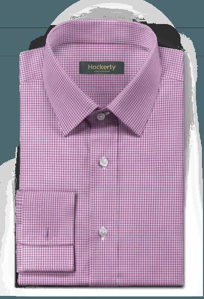 Lilanes kariertes Hemd mit Umschlag & aus Baumwolle