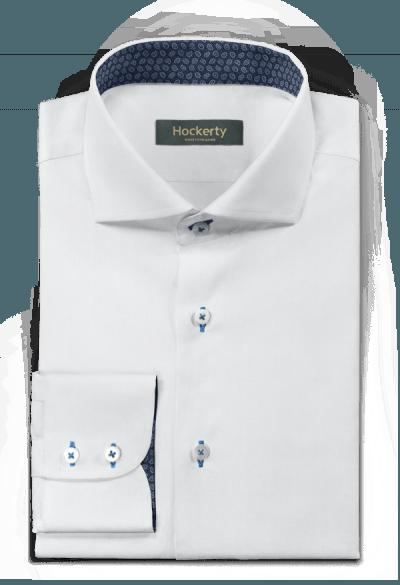 Weißes Hemd aus Baumwolle