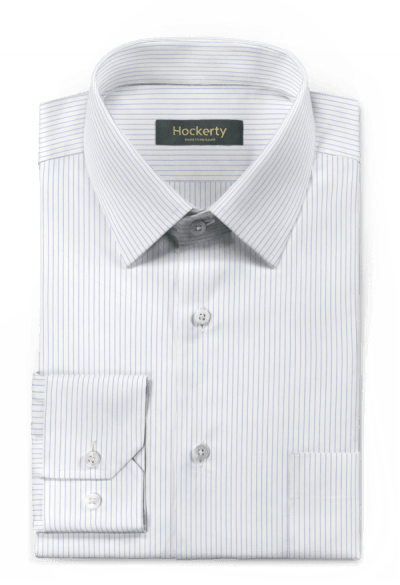 White striped 100% cotton Shirt