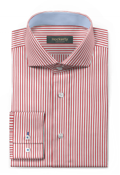 Red striped 100% cotton Shirt