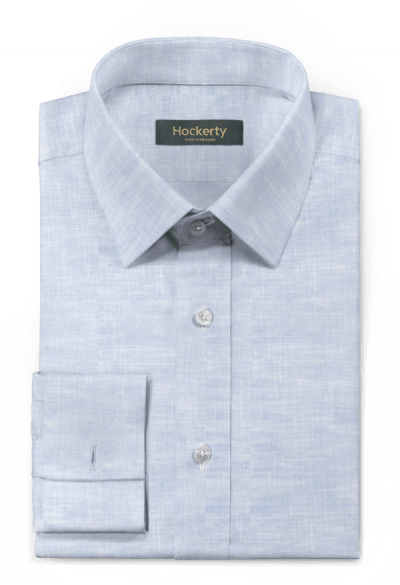 Blue french cuff linen Shirt