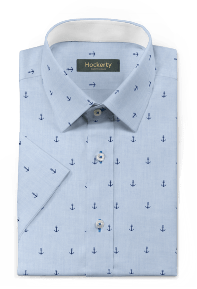 Kurzärmliges Hemd aus Baumwolle