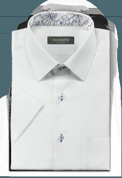 White short sleeved linen Shirt