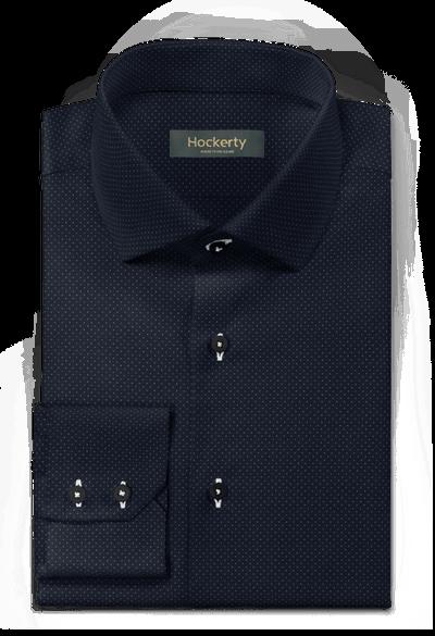 Camisa Azul Marino a topos 46€ | Hockerty